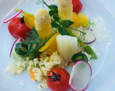 Culinaire pleinen Restaurants en gerechten